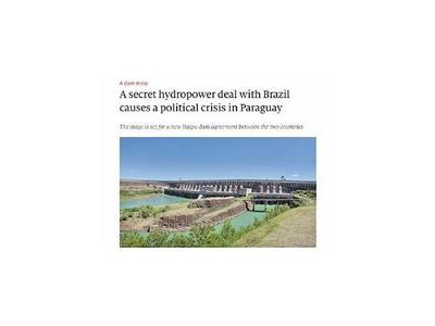 Conflicto por Itaipú llegó a la tradicional publicación inglesa The Economist