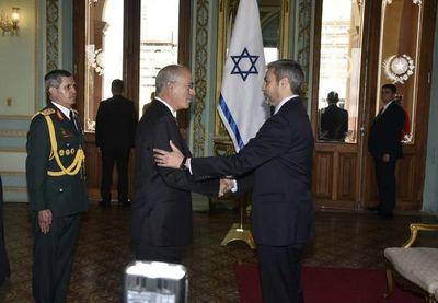 Nuevo embajador israelí presenta cartas credenciales