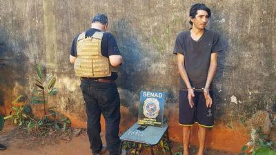 Allanan vivienda en Itauguá y detienen a presunto microtraficante