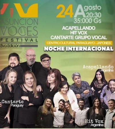 """Llega la 8va. edición de """"Asunción a Voces"""""""