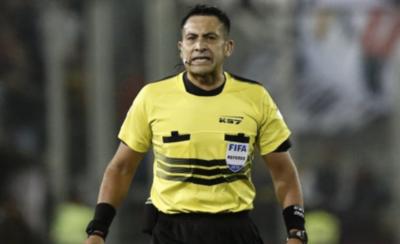 HOY / Juez chileno para el desquite de Cuartos de Final