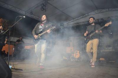 Exitosa noche de rock en Ypacaraí