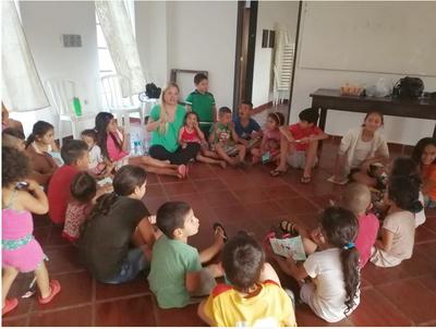 Niños fernandinos recibieron Salvemos Nuestra Infancia
