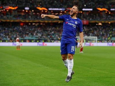 Eden Hazard, mejor jugador de la Europa League 2018