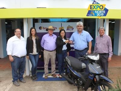 La primera moto de la Expo ya tiene dueño