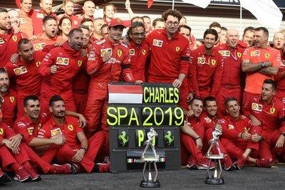 Lecrerc se adueña del GP de Bélgica