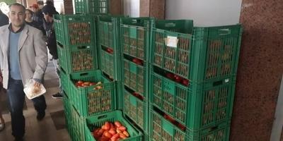 HOY / Feria del tomate y varios productos en el microcentro