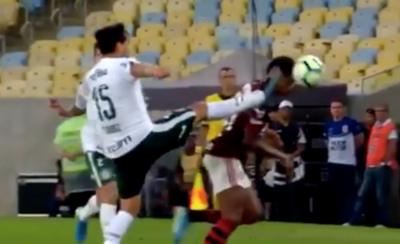 HOY / Gómez ve la roja y Palmeiras cae por goleada ante el Flamengo