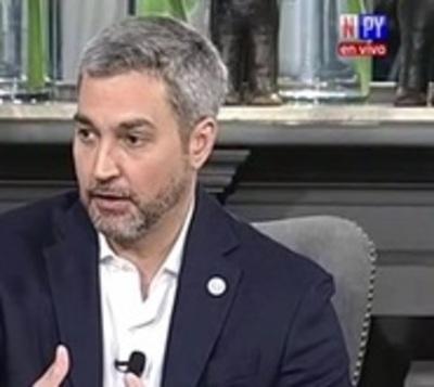 """Mario Abdo: """"Los ministros se quedan"""""""