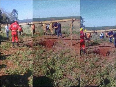 Rescatan de un pozo a un hombre desaparecido hace dos días