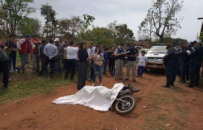 Sicarios matan a tiros a un motociclista en Pedro Juan