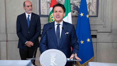 Giuseppe Conte asume como Primer Ministro en Italia
