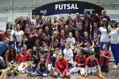 Cerro, campeón invicto del Futsal FIFA Femenino