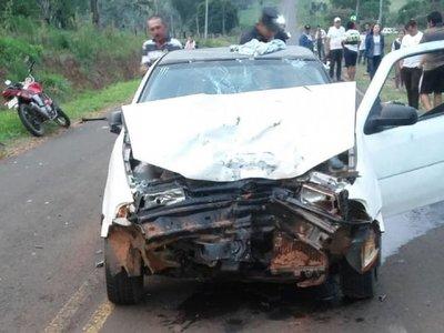 Motociclista fallece tras accidente en Yasy Cañy