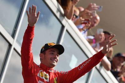 Leclerc rompe la sequía de Ferrari
