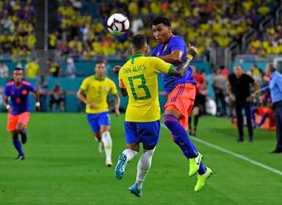Triunfo de Uruguay y empate de Brasil y Colombia en amistosos FIFA