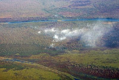 Clima no ayuda y reactivación de incendio amenaza reservas