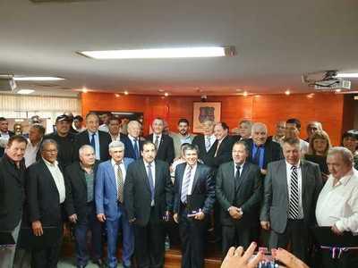 Campeones de América son declarados ciudadanos ilustres de Asunción