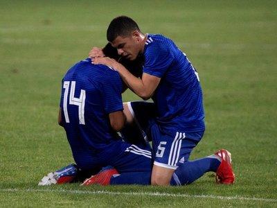 Los goles de la Albirroja en Jordania
