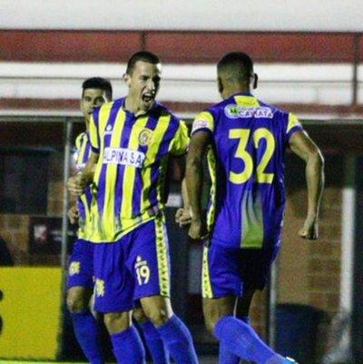 Con la mínima diferencia Capiatá derrotó a Oventense y se anota a los cuartos de final de la Copa Paraguay