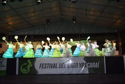 Festival de Danzas en Ypacaraí en su 47º edición