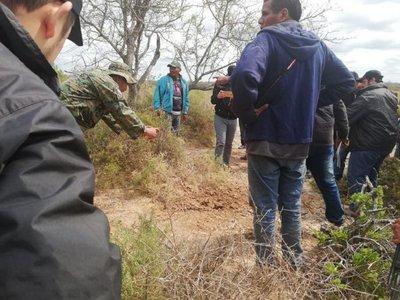 Goiburú investigará hallazgo de huesos en tierras indígenas