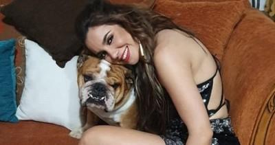 Vivi Figueredo adoptó al experro de Carmiña Masi