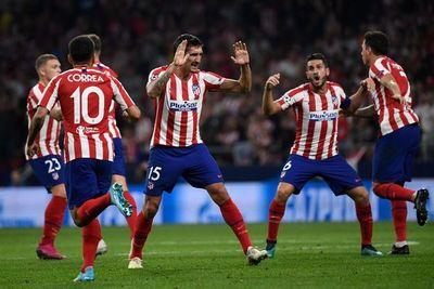 Reacción y punto para el Atlético