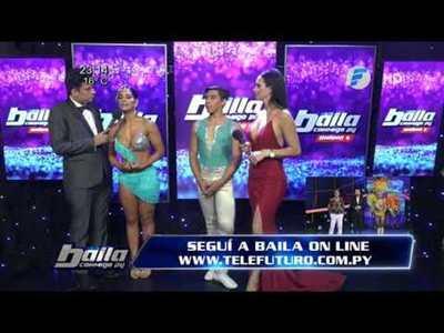 Fabi Martinez le recomendó a Junior Rodriguez retirarse del Baila Conmigo Paraguay