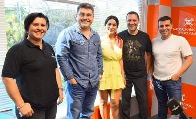 """HOY / """"Tova jepete"""" para periodistas y el público: Fabiola Martínez acompañará a Luis Bareiro en AM"""