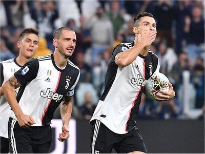 Cristiano devuelve el triunfo a una Juventus gris