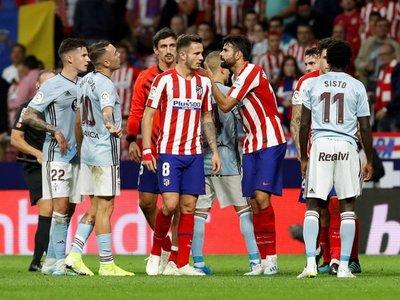 Frenazo del Atlético, repunte del Celta