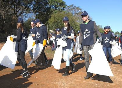 Más de 60 mil kilos de residuos retiraron casi mil voluntarios