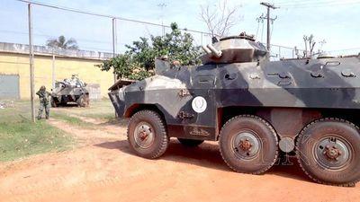 Militares ya refuerzan seguridad de las cárceles