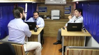 San Pedro recibe esta semana servicios de la PAC Móvil de Tributación
