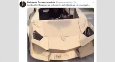 "HOY / Lamborghini del ""Paraguay de la Gente"": ""La vorágine de gritar goles en off side"""