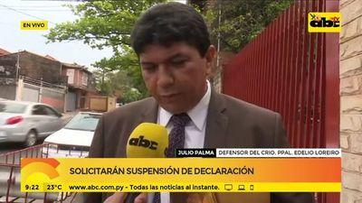 Solicitarán suspención de declaración de policías detenidos