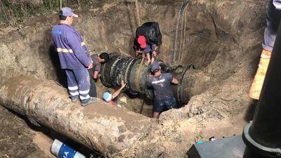 Servicio de agua será restablecido totalmente cerca del mediodía
