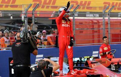 Leclerc partirá desde la 'pole'