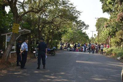 Familias se resisten a ser desalojadas en Itauguá