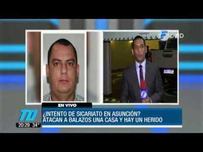 ¿Intento de sicariato en Asunción?