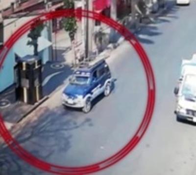 Revelan imágenes de intento de asesinato en Villa Aurelia