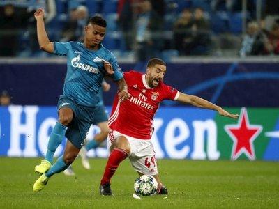 El Zenit liquida a un triste Benfica