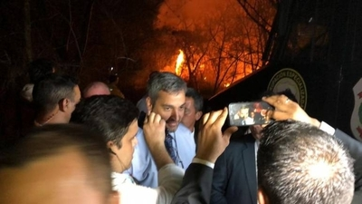 HOY /  Tyeraku, incendios, crisis de la economía: Abdo y su decreto 'antibíblico' es la causa, afirma