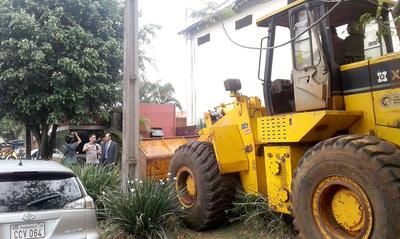 Prieto lideró derrumbe de la caseta ubicada en vereda de Zacarías Irún