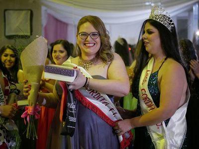 Una ingeniera de 35 años es la nueva Miss Gordita Paraguay