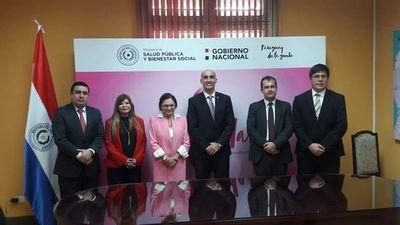 Embajada francesa restaurará el Hospital Nacional de Itauguá