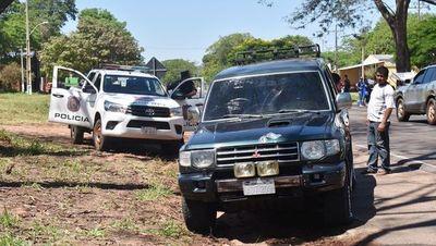 Asaltantes roban camioneta que llevaba G. 30 millones