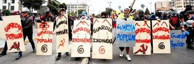 Ecuador bajo tensión por marchas  en contra del retiro de subsidios