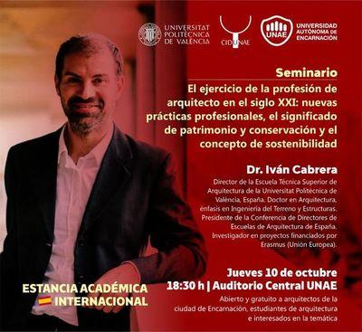 Invitan a congreso de Ciencia, Diseño y Tecnología en Encarnación